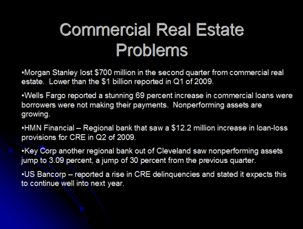 commercial real estate chart