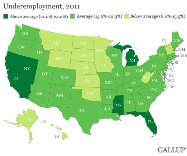 unemployment us 2012
