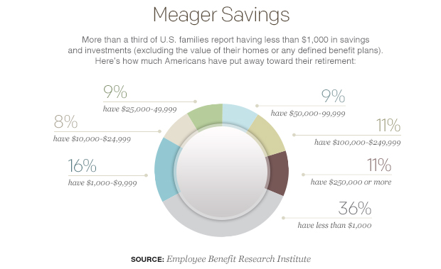 meager-savings-pie-chart