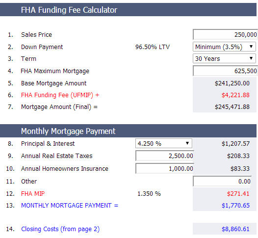 fha-payment